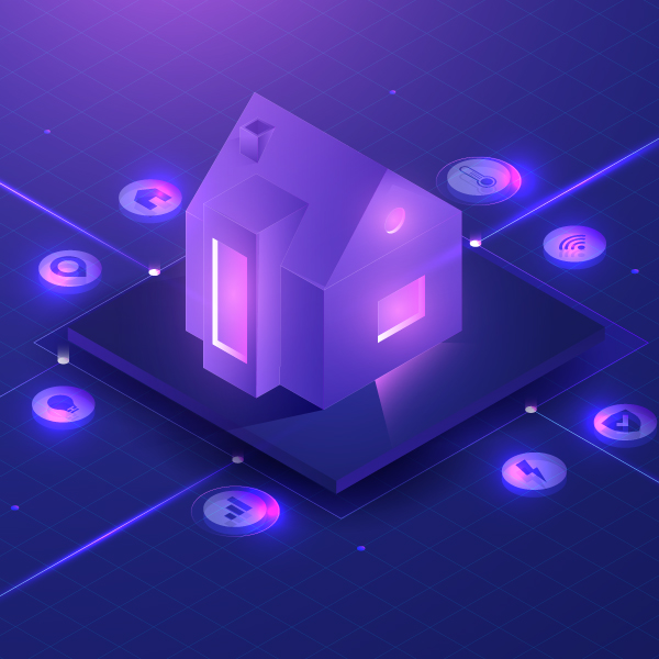 IT Networked house with smart controls
